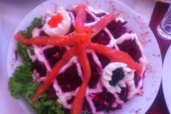Акварель салат